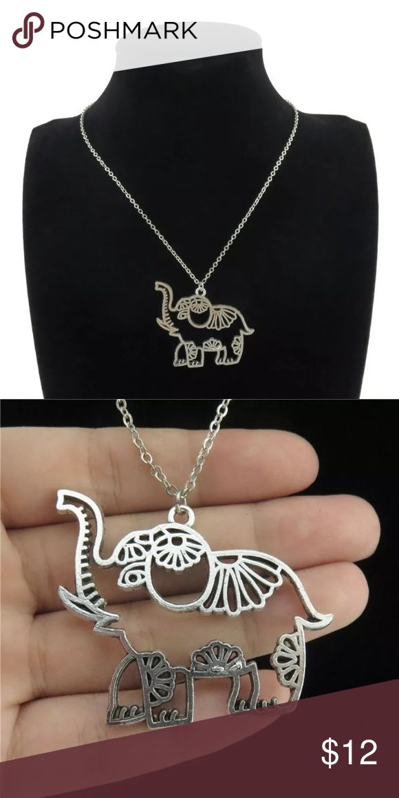 18 best fashion style and beauty images on pinterest craft necklace silver alloy elephant pendant necklace jewelry necklaces fandeluxe Image collections