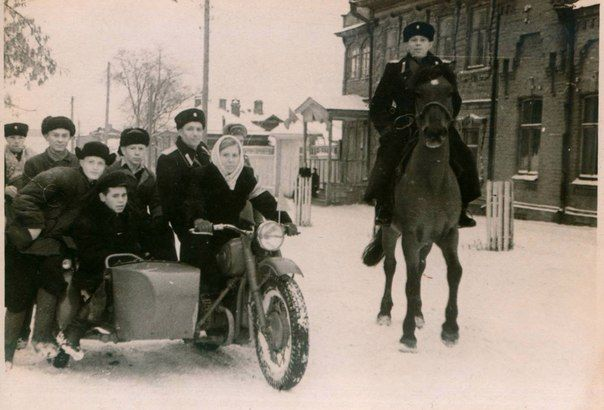 Дружинники и милиция, 1956 год