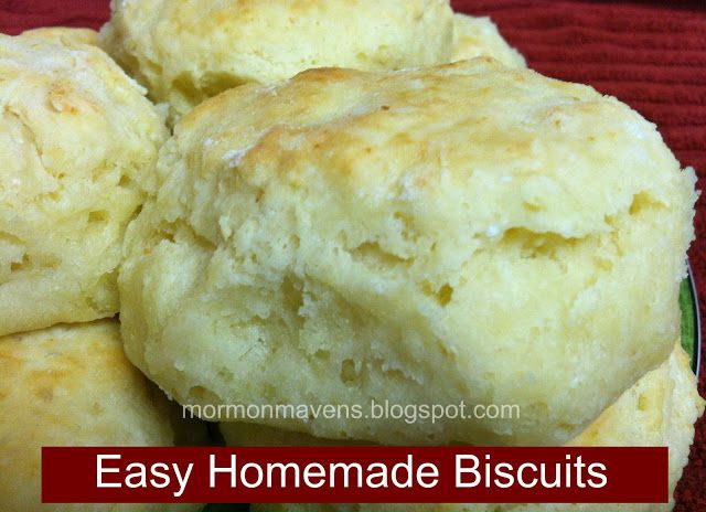 how to make nice biscuits