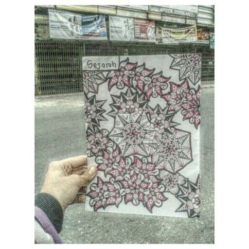 #Zen #Zentangle #Zendala #Mandala #Simple #WorryFree #Zendoodle #Doodle #DoodleArt #LetsGetStarted #LPY27 #WonderfullIndonesia #Indonesia