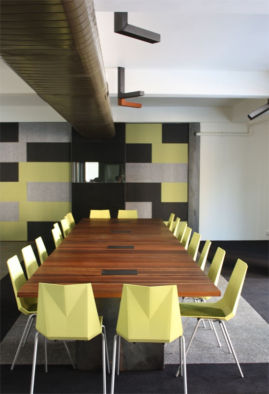 Our sound proof boardroom is complimented with breakout spaces and a comfortable sitting area.