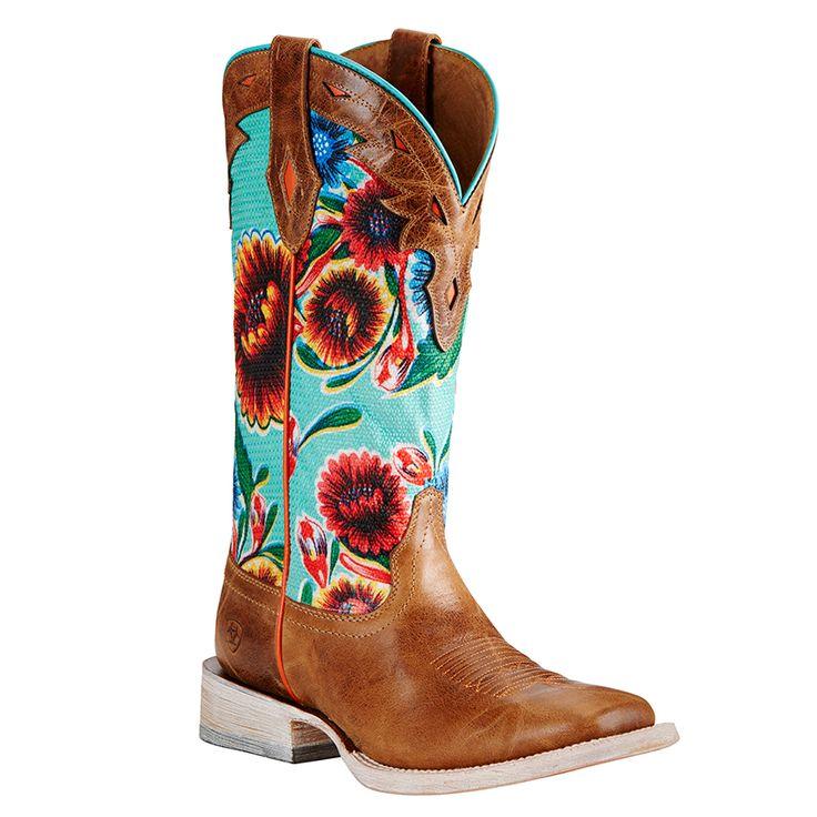 Vibrant Multicolor Ariat Women's Floral Textile Circuit Champion Western Boots