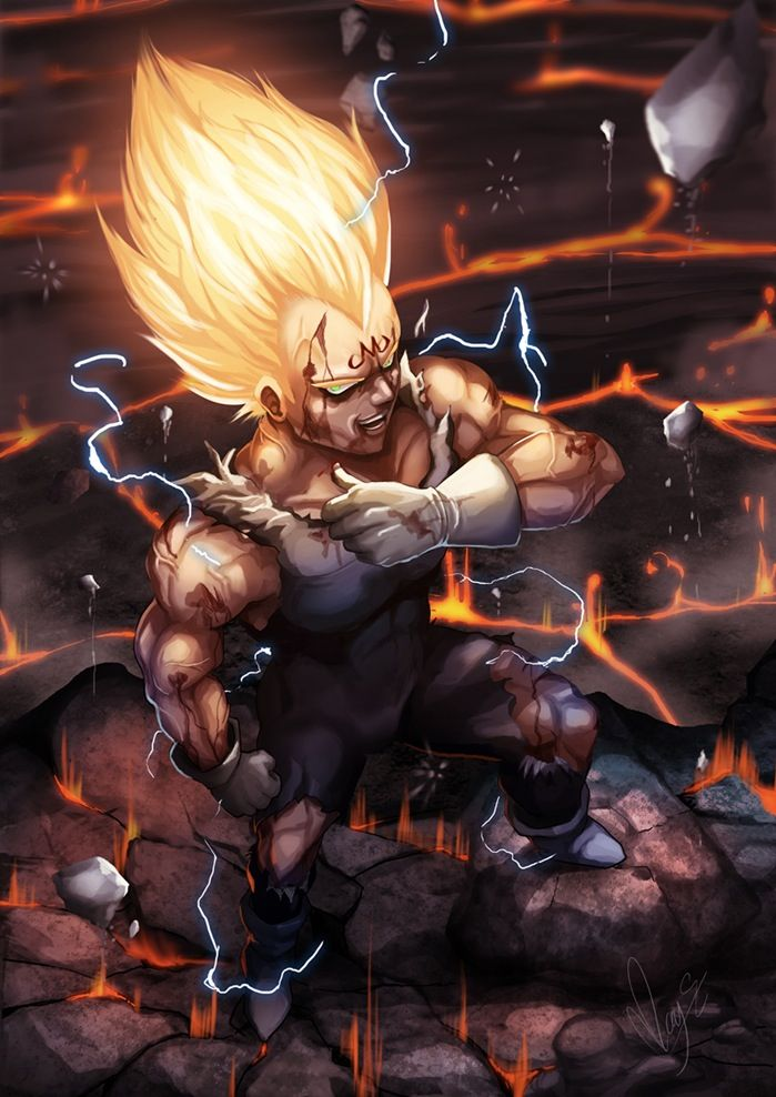 """You'll fight me Kakarot, unless you'd like more bodies to pile up on your conscience.""-Vegeta"