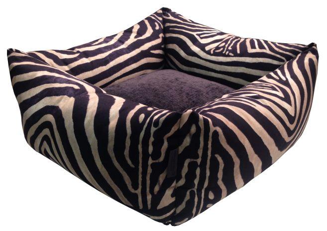 Hundbädd - WILD LIFE - Zebra