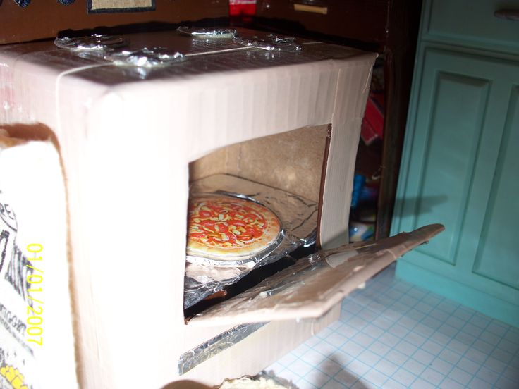 The Duck Tape Doll House...It's not delivery...It's Digiorno...Lol