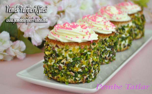 Fıstıklı Mini Pasta Tarifi