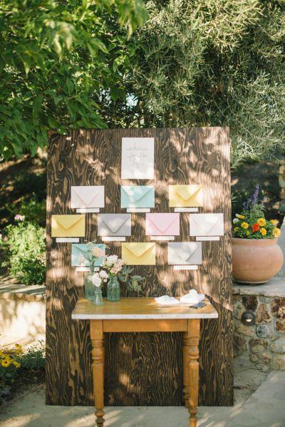 Wedding decor: http://www.stylemepretty.com/2014/10/09/romantic-outdoor-affair-in-a-sea-of-pastel/ | Photography: Delbarr Moradi - http://delbarrmoradi.com/