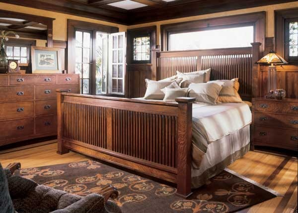 Stickley Bed Set House Porn Craftsman Beauties Pinterest The O 39 Jays Wood Trim And Bed Sets