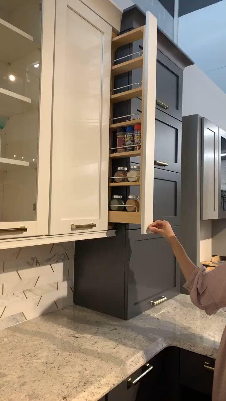 Vorratsschrank Und Ein Apothekerschrank Multifunctional Suitable To Fit In Kitchen Cupboard In 2020 Rustic Farmhouse Kitchen Home Decor Kitchen Diy Kitchen Storage