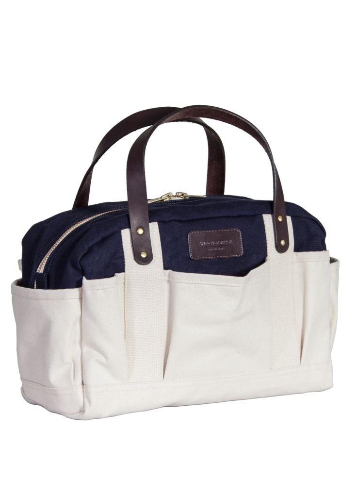 Harper - Canvas Tool Tote - Navy