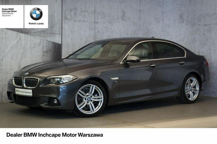 BMW 520 - BMW 520d xDrive! Pakiet sportowy M!   Kamera cofania!   Hifi!  