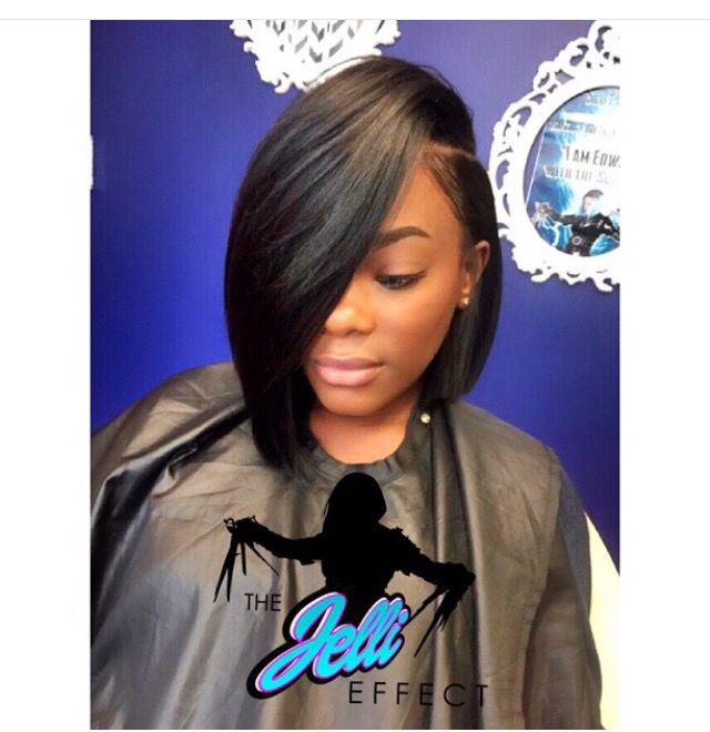 how to cut a bob weave