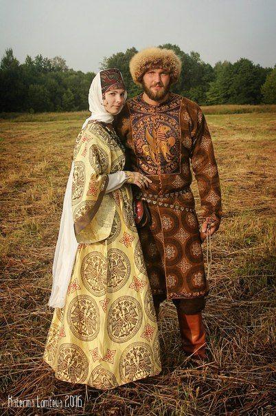 Medieval Slavic costume of Ancient Russia. Фотографии Катерины Ломтевой   40…