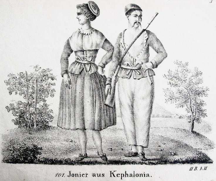 Kefalonia traditional costume