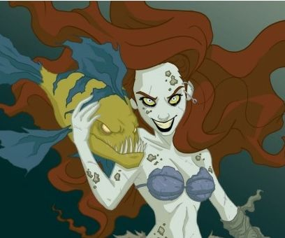 If Disney princesses were evil, my favorite is Cinderella, so weird but amazing