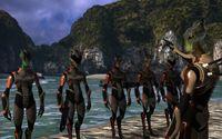 Why don't alien soldiers in Mass Effect wear helmets ...