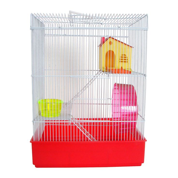 YML+3+Level+Red+Hamster+Cage+-+3+level+small+animal+habitat.+Includes+a+wheel,+a+dish+and+a+set+of+platforms+and+ladders. - https://www.petco.com/shop/en/petcostore/product/yml-3-level-red-hamster-cage