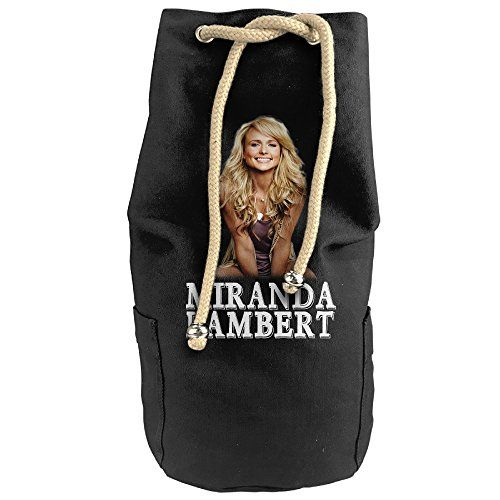 DAFA Unisex Vertical Bucket Cylindrical Shaped Canvas Drawstring Sports Basketball Shoulders Backpack Bags2015 Country Singer Miranda Lambert Tour *** To view further for this item, visit the image link.