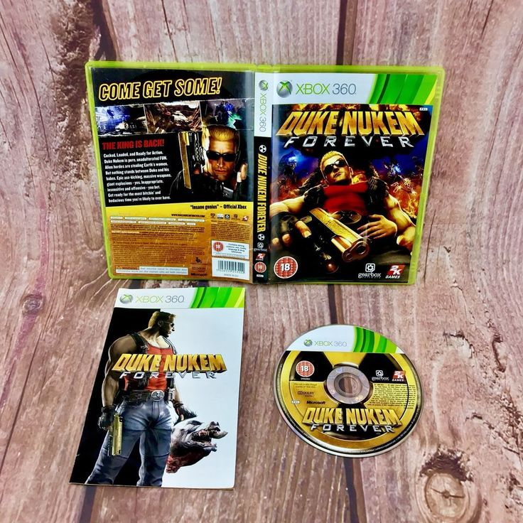 XBOX 360 GAME DUKE NUKEM FOREVER BOXED & INSTRUCTIONS COMPLETE PAL VGC
