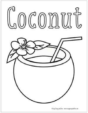 Summer Coloring Pages Free Printable - Easy Peasy and Fun