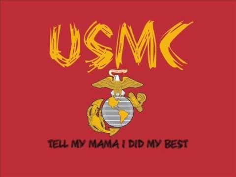 "Marine Corps Cadence - ""Mama Can't You See"""