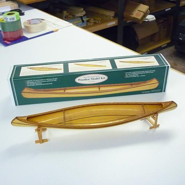 1:12 Scale Model Canoe Kit – Bear Mountain Boat Shop - US Shop