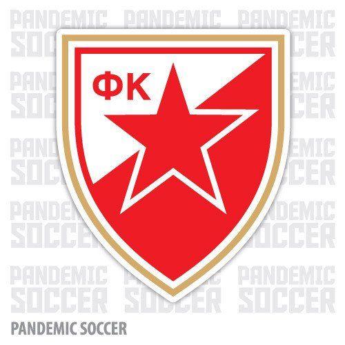 Red Star Belgrade Serbia Vinyl Sticker Decal