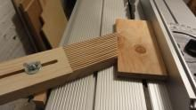 Eigenbau Federkamm für Festool Precisio CS 50 Tischkreissäge