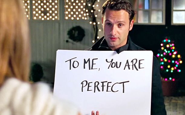 Andrew Lincoln agrees his Love Actually character is a stalker