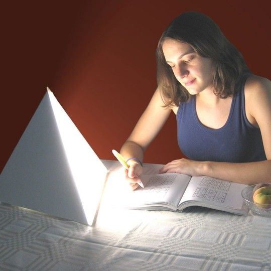 """""""SAD"""" Lamp: designed to simulate the sun's uplifting effects and combat Seasonal Affective Disorder"""