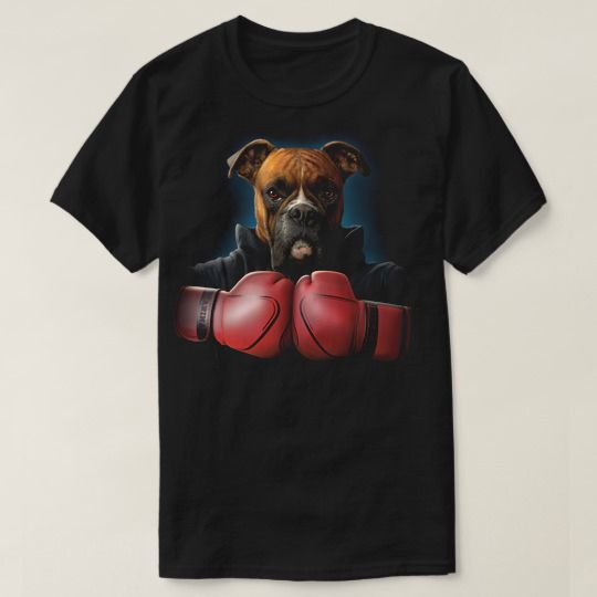 Boxer Rocky Boxing Custom Shirts