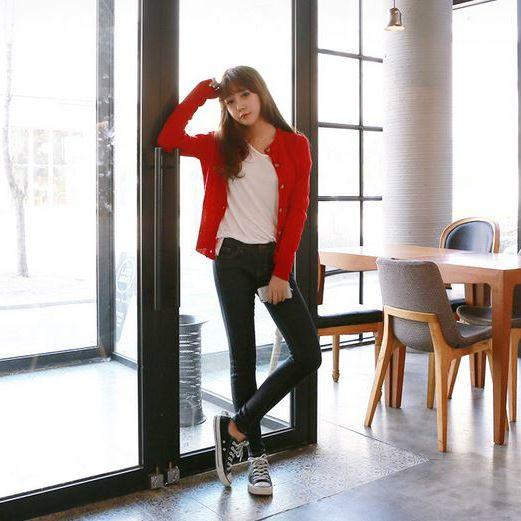 Womens Clothing Store [VANILLAMINT] Pinel Cardigan / Size : FREE / Price : 19.93 USD #dailyllook #dailyfashion #fashionitem #ootd #outer #outwear #cardigan #vanillamint http://en.vanillamint.net/