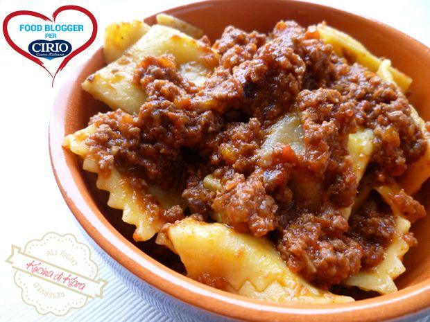 Ricetta Ravioli al brasato con ragù di carne   Cirio