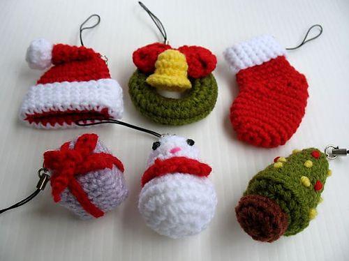 Ravelry: Miniature Crochet Pattern- CHRISTMAS pattern by Sky Magenta.