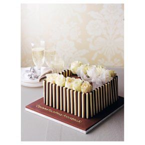 Cake is the ultimate comfort food, how amazing does this Waitrose celebration cake look?