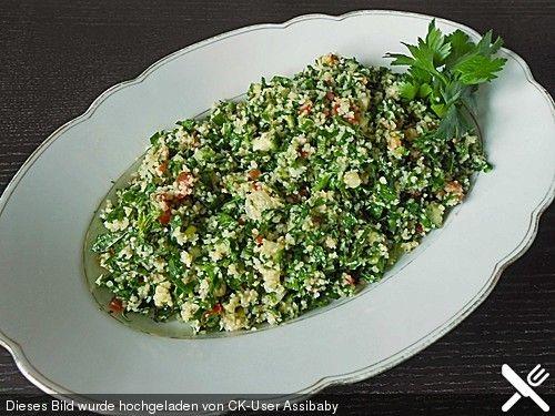 Scharfer Petersilien - Minze - Salat