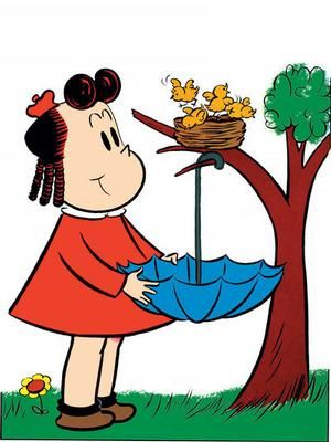 Little Lulu. My Dad used to read me the Little Lulu books, so I have great memories of them!!