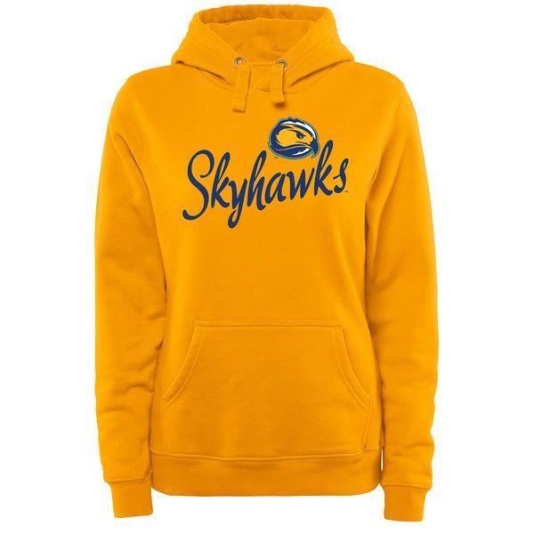 Fort Lewis College Skyhawks Women's Plus Sizes Dora Pullover Hoodie - Gold - $49.99