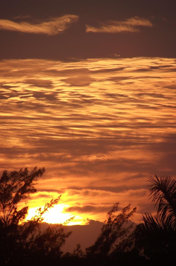 Durban sunrise,South Africa