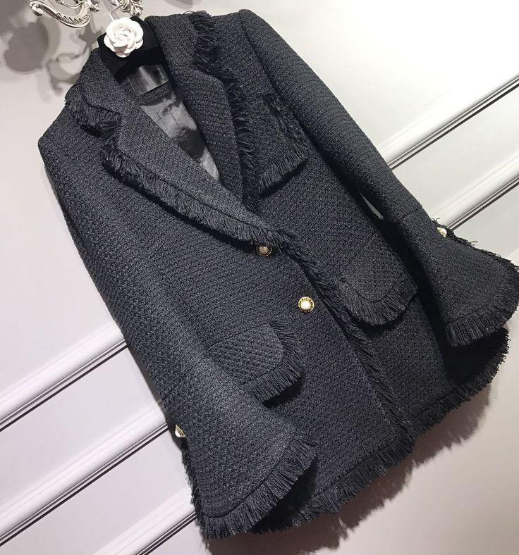 US $263.40 -- Твид зимнее пальто женщин, элегантный длинное пальто, мода casaco feminino плюс размер 5xl 6xl черный пальто, abrigos mujer зима купить на AliExpress