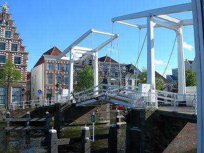 Spaarne river - Pictures of Haarlem