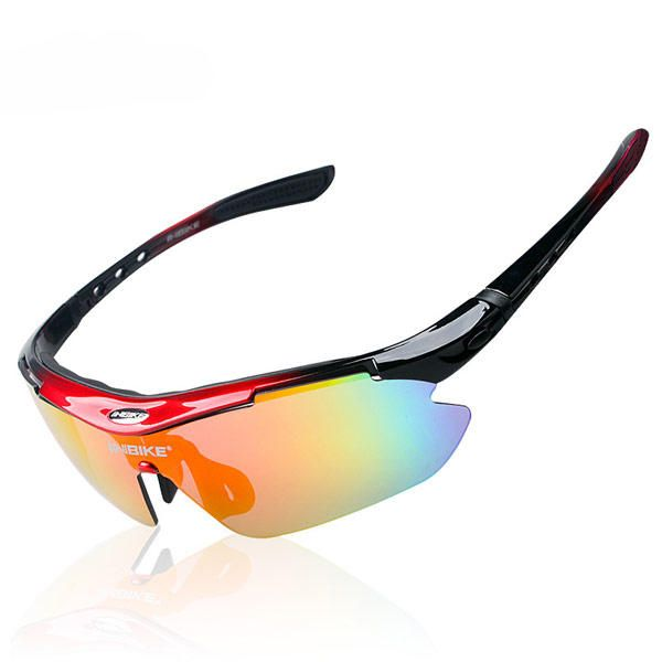 Kit Gafas para Ciclismo con 5 Lentes Intercambiables UV400 Bici MTB