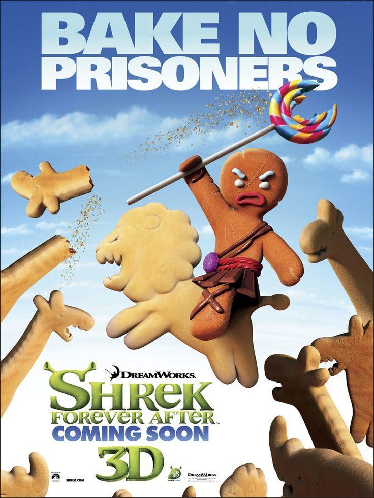 Image result for gingerbread man shrek muffin man scene