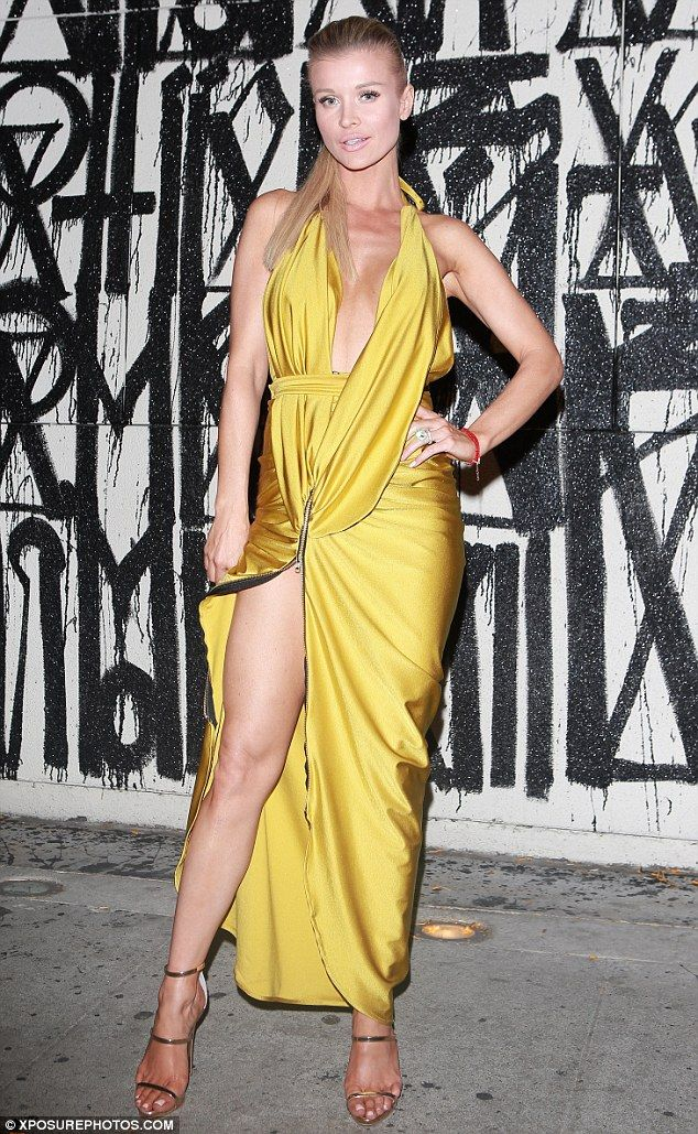Her special day: Joanna Krupa celebrated her 37th birthday at Craig's in West Hollywood on Saturday