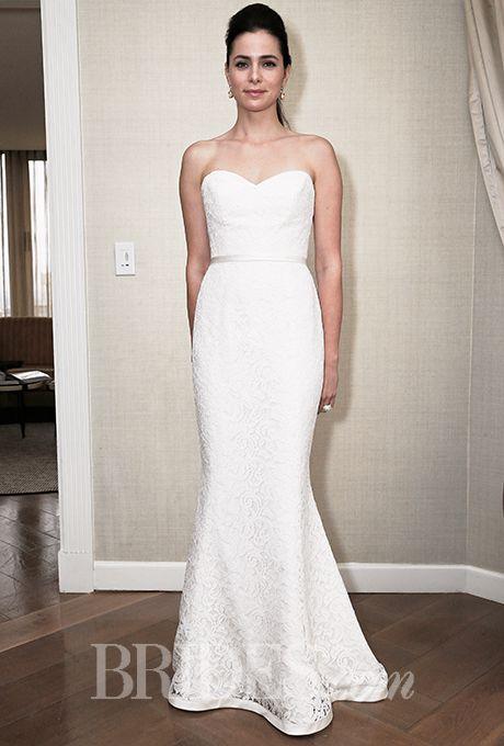 Amy Kuschel - Fall 2015. Wedding dress by Amy Kuschel