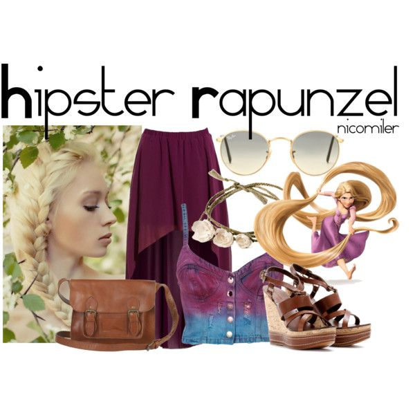 """HIpster Rapunzel"" by nicomiler on Polyvore"