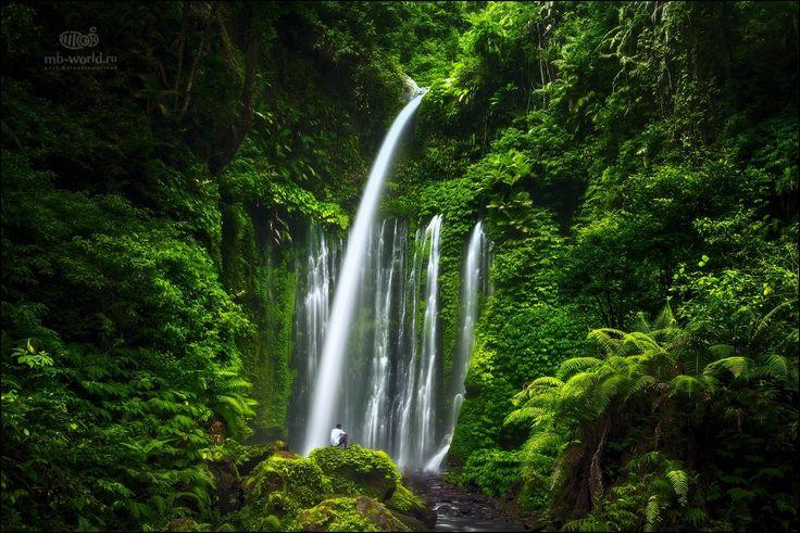 "Waterfall Air Terjun Tiu Kelep - MY MORE PICS: <a href=""https://www.facebook.com/michail.vorobyev"">Please follow me on</a>  Instagram :: @michailvorobyev"
