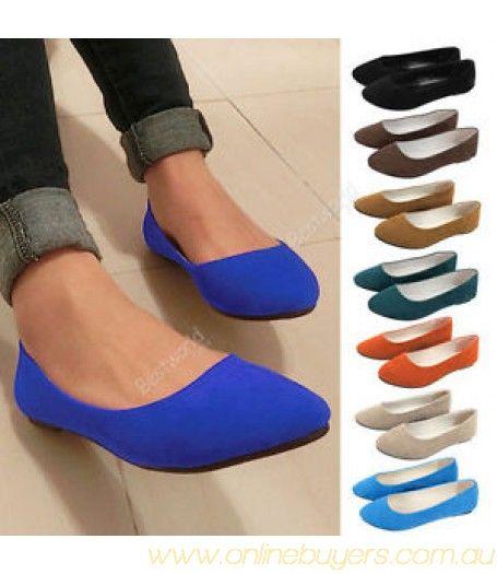 Flat Shoes #Flats #blue #Black #brown #comfy