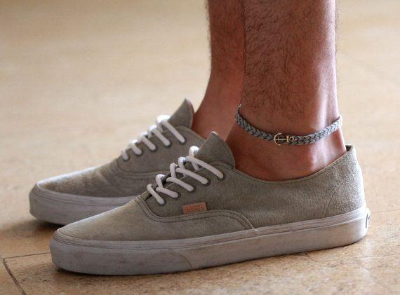 ONSALE 20% OFF Men's Anklet Men's Ankle bracelet par Galismens