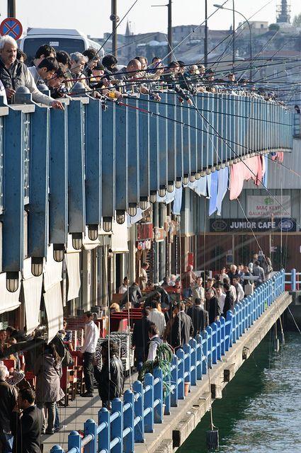 Galata-Brücke - Istanbul, Turkey